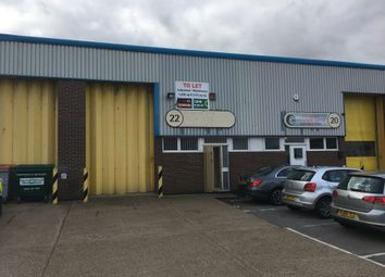 Thumbnail Industrial to let in Unit 22 City Industrial Park, Southern Road, Southampton