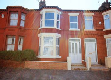 Thumbnail 3 bed terraced house for sale in Long Lane, Wavertree, Liverpool