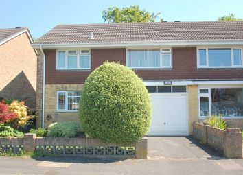 Thumbnail 4 bed semi-detached house for sale in Woodside, Gosport