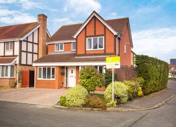 Thumbnail 4 bedroom detached house for sale in Dart Close, St. Ives, Cambridgeshire