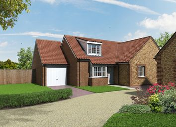 Thumbnail 3 bed semi-detached house for sale in Church Lane, Heacham, King's Lynn