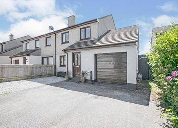 Thumbnail 3 bed semi-detached house for sale in Illogan, Redruth, Cornwall