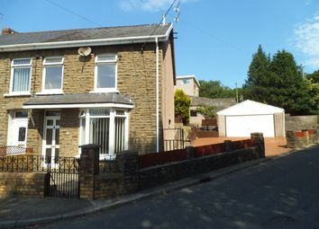 Thumbnail 3 bed semi-detached house for sale in Pleasant View, Brynmenyn, Bridgend