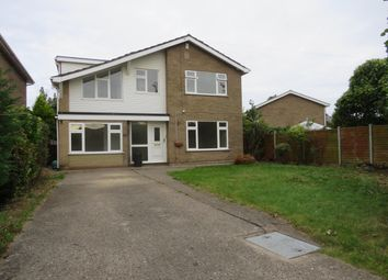 Thumbnail 4 bed detached house to rent in Hatt Close, Moulton, Spalding