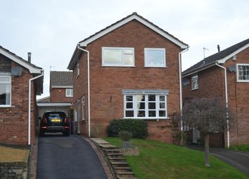 Thumbnail 3 bed detached house for sale in Peacehaven Grove, Stoke-On-Trent