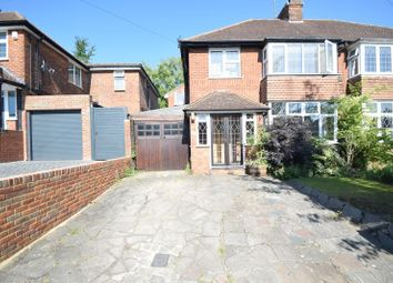 Thumbnail 4 bed semi-detached house for sale in Manton Drive, Luton