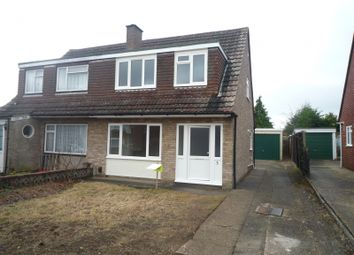 Thumbnail 3 bed semi-detached house to rent in Iron Mill Close, Fareham
