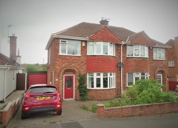 Thumbnail 3 bed semi-detached house for sale in Marston Drive, Groby, Leicester