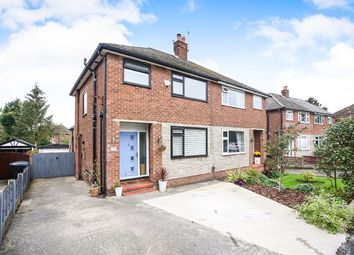 Thumbnail 3 bed semi-detached house for sale in Poise Close, Hazel Grove, Stockport