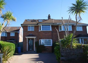 Thumbnail 3 bedroom semi-detached house for sale in Selworthy Close, Parkstone, Poole