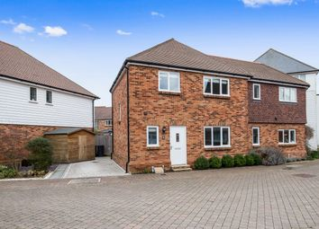 Thumbnail 4 bed end terrace house for sale in Havillands Place, Wye, Ashford