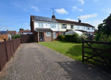 Thumbnail 3 bedroom end terrace house for sale in The Meadway, Tilehurst, Reading