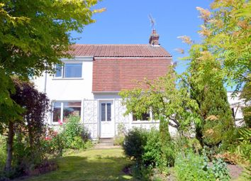 Thumbnail 3 bed semi-detached house for sale in The Street, Poslingford, Sudbury