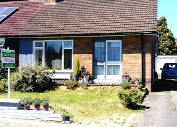 Thumbnail 2 bed semi-detached bungalow for sale in Ivy Close, Stoke Golding, Nuneaton