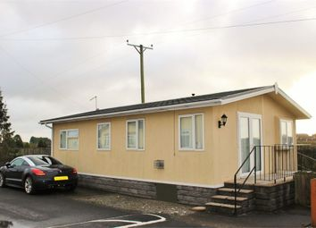 Thumbnail 3 bed mobile/park home for sale in Millands Caravan Park, Llanmaes, Llantwit Major, South Glamorgan