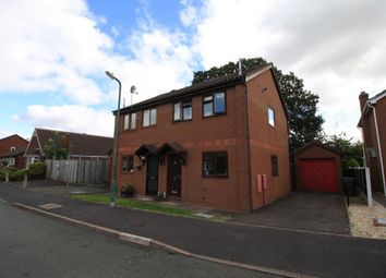 Thumbnail 2 bed semi-detached house to rent in Leafields, Shrewsbury, Shropshire