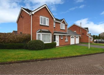 Thumbnail 4 bed detached house for sale in Dean Close, Market Drayton
