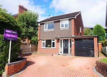 Thumbnail 3 bed detached house for sale in Belgrave Road, Newcastle