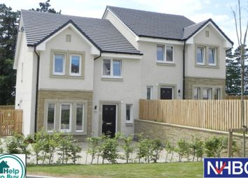 Thumbnail 4 bed semi-detached house for sale in The Cedar Holmhead Gardens, Holmhead, Hospital Road, Cumnock