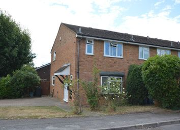 Thumbnail 3 bed end terrace house for sale in Drake Road, Chessington, Surrey.