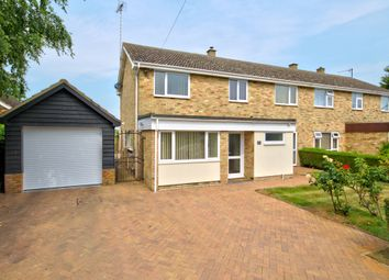 Thumbnail 4 bed semi-detached house for sale in High Street, Great Abington, Cambridge