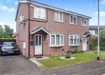 Thumbnail 2 bed semi-detached house for sale in West Bank, Northampton