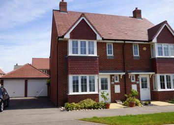 Thumbnail 3 bed semi-detached house for sale in Benjamin Gray Drive, Littlehampton