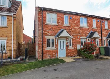 Thumbnail 2 bedroom end terrace house for sale in Dobbs Close, Killamarsh, Sheffield