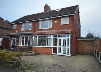 Thumbnail 3 bed semi-detached house for sale in Cringle Road, Levenshulme, Manchester, Greater Manchester
