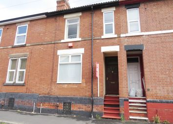 Thumbnail 4 bed terraced house for sale in Arnold Street, Derby