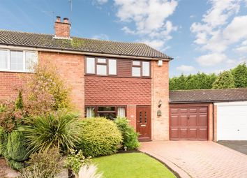 Thumbnail 3 bed semi-detached house for sale in Elm Close, Lower Gornal