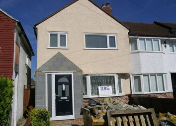 Thumbnail 3 bed end terrace house to rent in Buckland Way, Worcester Park, Surrey