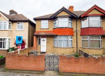 Thumbnail 3 bed semi-detached house for sale in Malden Road, Cheam, Sutton