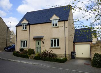Thumbnail 3 bed detached house for sale in Savory Way, Cirencester, Gloucestershire