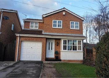 Thumbnail 3 bed detached house for sale in Brackenwood Road, Outwood, Wakefield