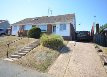 Thumbnail 2 bed semi-detached bungalow for sale in Upper Sherwood Road, Seaford