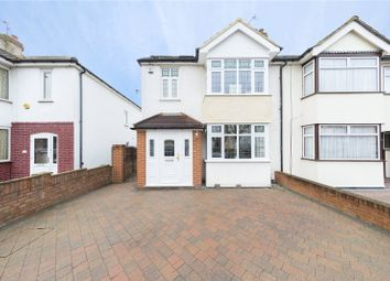 Thumbnail 4 bed semi-detached house for sale in Edison Avenue, Hornchurch