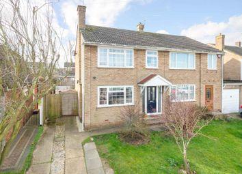 Thumbnail 3 bed semi-detached house for sale in Harcourt Gardens, Rainham