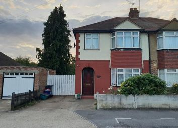 Thumbnail 3 bed terraced house for sale in Gould Road, Bedfont
