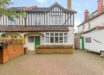 Thumbnail 4 bed semi-detached house for sale in Riddlesdown Road, Purley