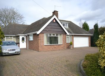 Thumbnail 2 bed detached bungalow for sale in Wedgwood Avenue, Newcastle-Under-Lyme