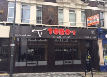 Thumbnail Restaurant/cafe to let in Bute Street, Luton, Bedfordshire