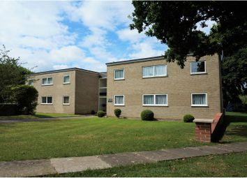 Thumbnail 2 bed flat for sale in Conifer Close, West Christchurch