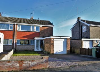 Thumbnail 3 bed semi-detached house for sale in Dale Road, Grantham