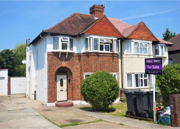 Thumbnail 3 bed semi-detached house for sale in Gladeside, Croydon