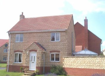 Thumbnail 3 bed detached house to rent in Wellfield Close, South Witham, Grantham