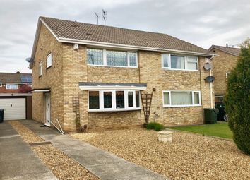 Thumbnail 3 bedroom semi-detached house for sale in Runswick Avenue, Acklam, Middlesbrough