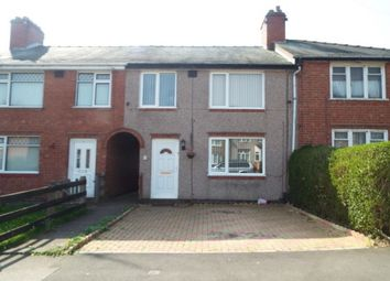 Thumbnail 3 bedroom terraced house to rent in Poole Road, Coundon