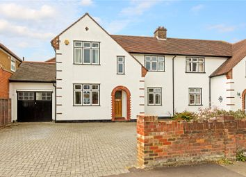 Thumbnail 4 bed semi-detached house for sale in Lancaster Road, St. Albans, Hertfordshire