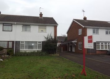 Thumbnail 3 bed property to rent in Croydon Drive, Penkridge, Stafford